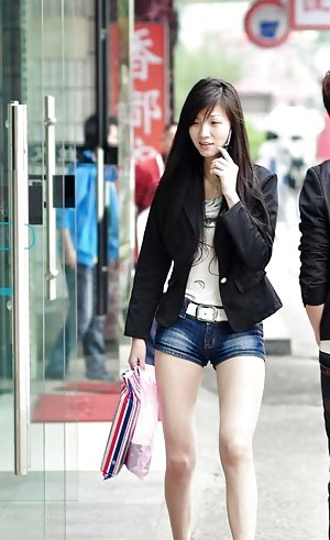 Chinese in Shorts Porn Pics